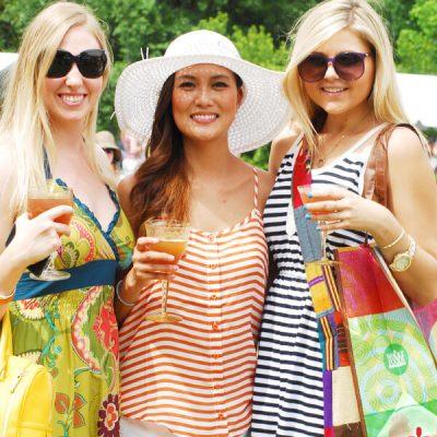 main event smiling trio sunglasses whole foods bag