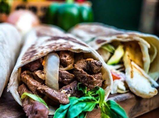 Brazilian-Beef-Wrap